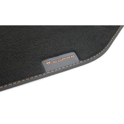 Sportline Fußmatten für SEAT Ateka KH7 Qualität Velours Metal Logo+4 Schrauben