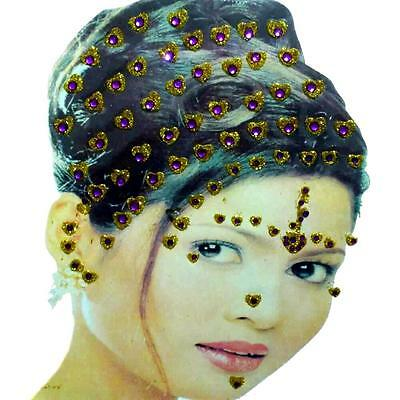 Haarschmuck Body Body Hair Haar Hand Sticker Schmuck Bollywood Indisch bridal