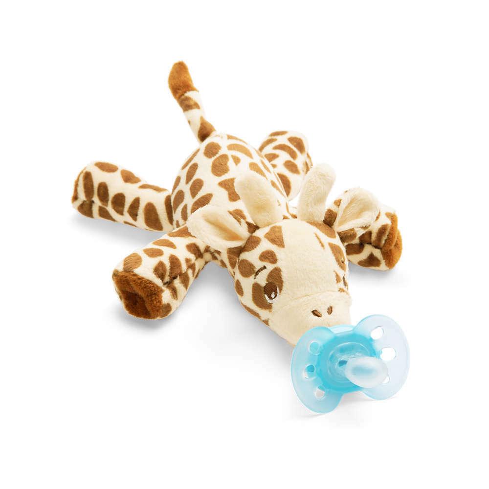 Philips Avent Snuggle Giraffe  Kuscheltier mit ultra soft Schnuller SCF348/11