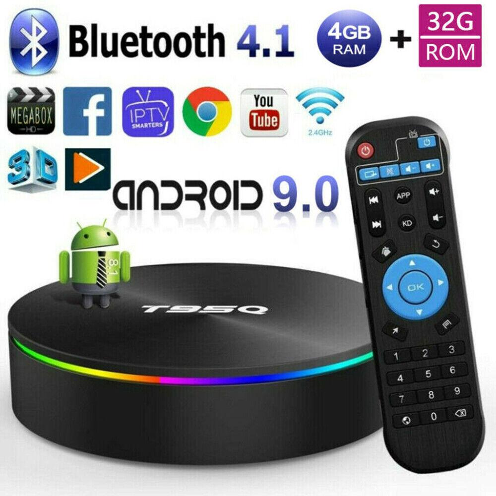2019 TX6 MINI 4GB+64//32GB Quad Core Android 9.0 TV Box 4K HD Media Player WIFI