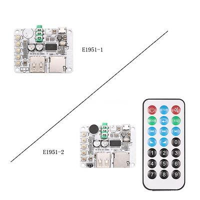 DC 5V Wireless USB Bluetooth2.1 Audio Receiver Board Module w/ TF Card Slot S8G5