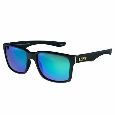 Liive Vision Sunglasses - Moto Mirror Polaraized - Matt Black - Live Sunglasses