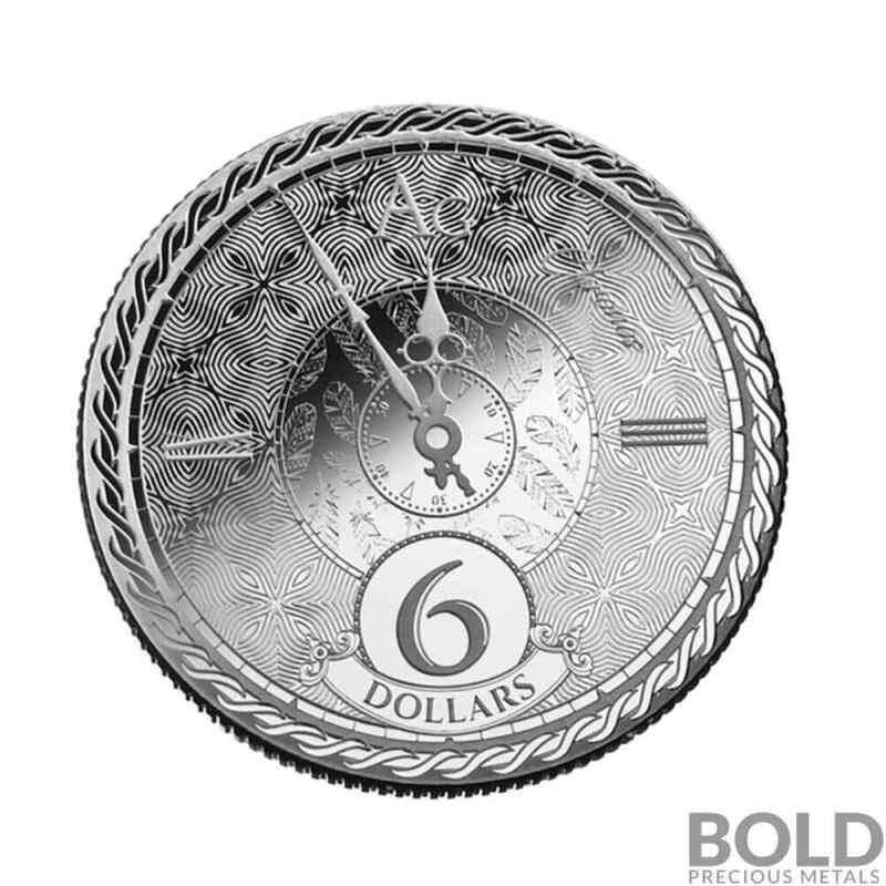 2020 Tokelau Chronos 1 oz Silver Prooflike
