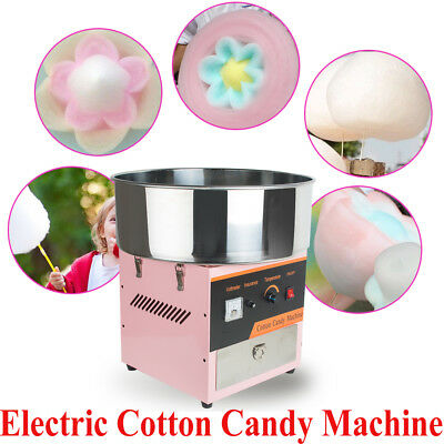 Usaelectric Cotton Candy Machine Floss Maker Commercial Carnival Party Wedding