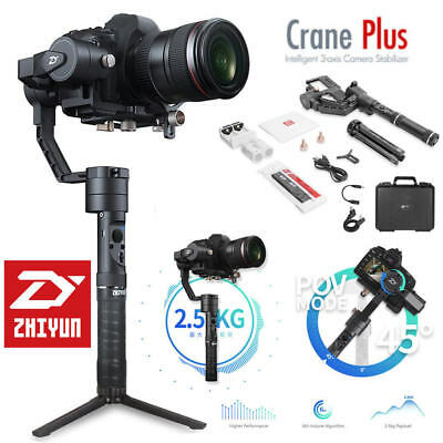 Zhiyun Crane-plus 3-Axis Stabilizer Follow Focus for DLSR Carry up to 5.5 LBs