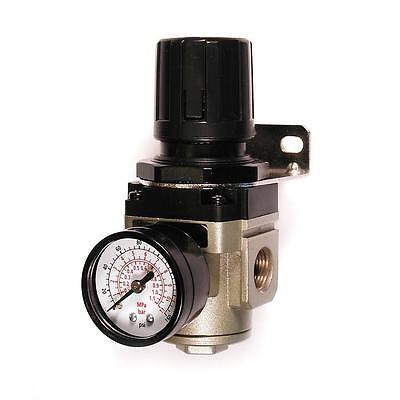Primefit 38 Inch Air Compressor Pneumatic Pressure Regulator Gauge 145 Psi Tool