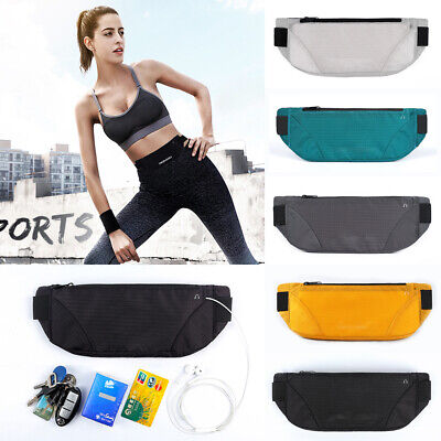 Hiking Belt - Waterproof Running Belt Bum Waist Pouch Fanny Pack Camping Sport Hiking Zip Bags