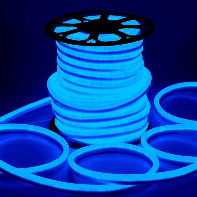 Delight 150 ft blue led neon rope light flex tube sign inoutdoor delight 150 ft blue led neon rope light flex tube sign inoutdoor aloadofball Gallery