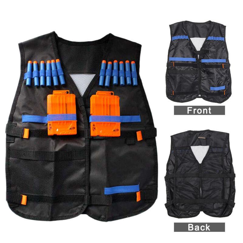 100× Refill Gun Bullet Dart Clip + Elite Tactical Vest für Nerf N-Strike Set