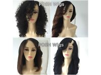 Custom wig maker/ bespoke wigs made with best grade 100% Human Hair extensions and closures