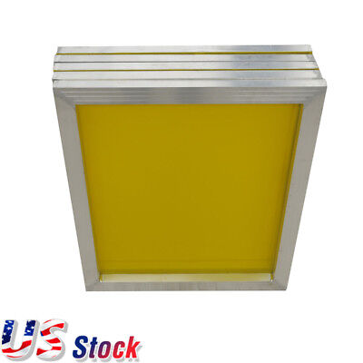 Usa 6pack 18 X 20 Aluminum Silk Screen Printing Frame With 200 Yellow Mesh