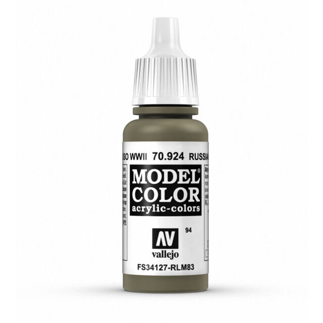 Vallejo Model Color: Russian Uniform WWII - VAL70924 Acrylic Paint 17ml 094