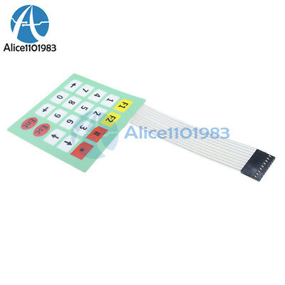 2pcs 4x5 Matrix Array Membrane Switch Keypad Keyboard 45 Keys For Arduino New