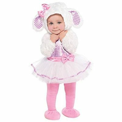 Little Lamb Baby Costume Girl Carnival Ballerina Fancy Dress