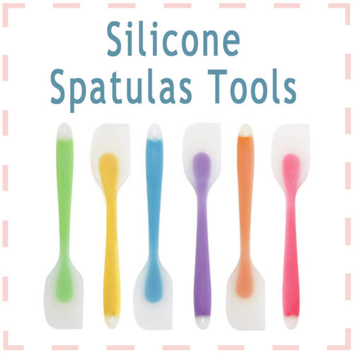 6pcs Spatula Set Multifunction Silicone Baking Cake Cream Bu