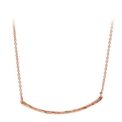 Gorjana Taner Bar Small Rose Gold Necklace 103105R