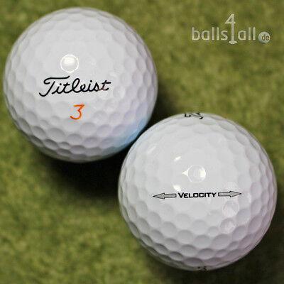 200 Pelotas de Golf Titleist velocity AAA / AAAA Calidad 4x 50 Bolas lakeballs