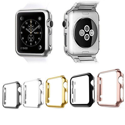 PC Watch Frame Bumper Case Cover Shell For Apple Watch iWatch 1/2/3/4 38-44mm Pc Bumper Case
