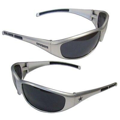 Nfl Dallas Cowboys Fan - Dallas Cowboys Wrap Sunglasses Sports NFL UV Shades Football Glasses Fan Team