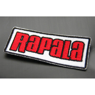 New Rapala Fishing Logo Patch Emblem Clothes Cap Badge 7.5cm #J1