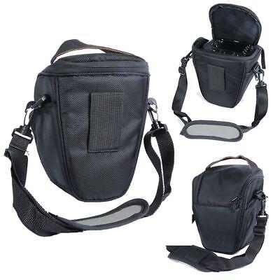 Waterproof Digital Camera Case Shoulder Black Bag for Nikon Canon SLR DSLR