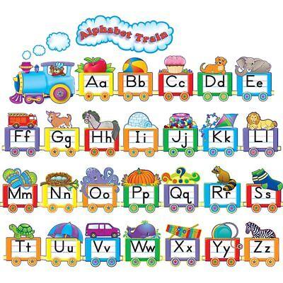 Alphabet Train Bulletin Board (Alphabet Train Bulletin Board Teacher Created Resources)