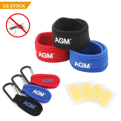Best Anti Mosquito Bug Insect Repellent Bracelet Wrist Band &4 Repellent