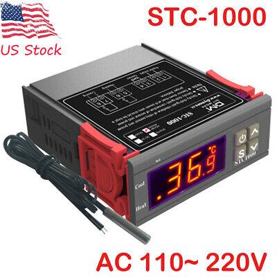 Ac 110 220v Stc-1000 All-purpose Temperature Controller Thermostat Wsensor