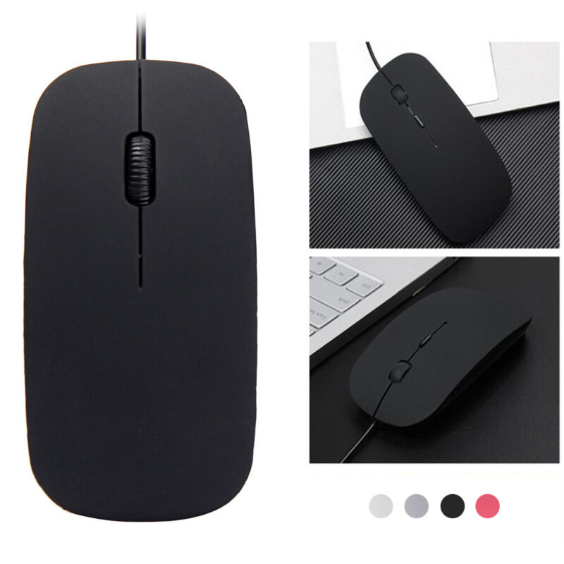 1600DPI 3D Buttons USB Wired Gaming Game Sensitive Mouse Mice For PC Laptop Mac