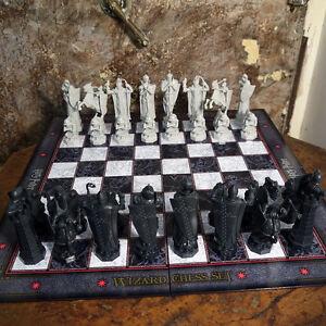 Harry Potter Wizard Chess Set Final Challenge Licensed The Noble Collection NEW