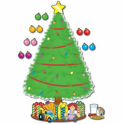 Big Tree Bulletin Board - Big Christmas Tree Bulletin Board Set Carson Dellosa CD-1779
