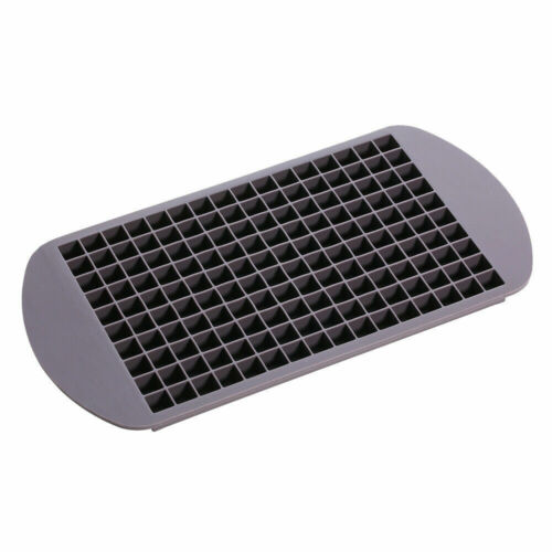 160 Silicone Grids Small Ice Cube Tray Ice Mold Kitchen Tool For  Whiskey cola Bar Tools & Accessories