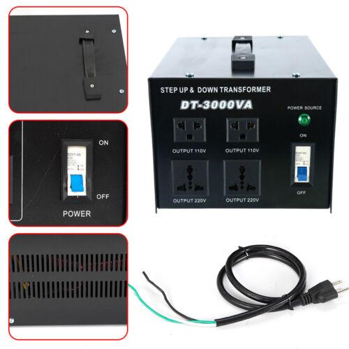 3000w voltage converter transformer stabilizer step up