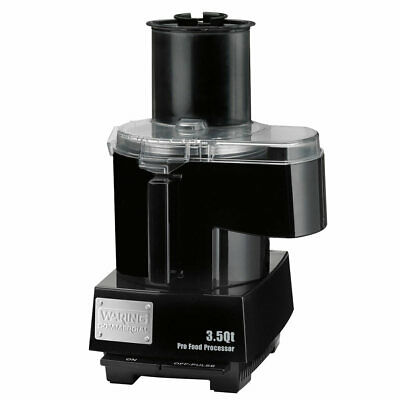 Waring Wfp14sc 1 Speed Continuous Feed Food Processor W 3 12 Qt Bowl 120v