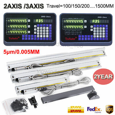 23 Axis Digital Readout Dro Ttl Linear Glass Scale Encoder For Milling Lathe
