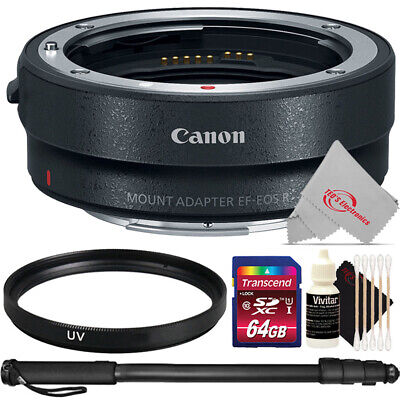 Canon Mount Adapter EF-EOS R + UV Filter Top Kit