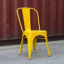 Replica Tolix Cafe Dining Chairs - Commercial Quality Sydney Region Preview