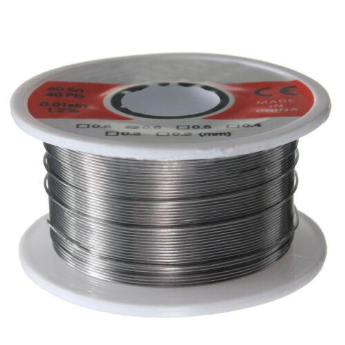 50g 63//37 Fine Solder Wire 0.6mm 2/% Flux Reel Tube Tin lead Rosin Core Soldering