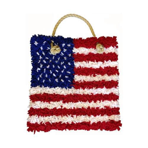 Craft Yourself Silly Proggy Stars & Stripes Bag Kit, NEW
