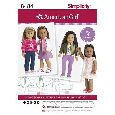 SEWING PATTERN! AMERICAN GIRL DESIGNS FOR DOLLS! BOMBER JACK