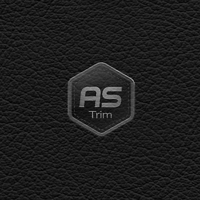 Stretch-Tech 1273 Black 4 Way Stretch Vinyl Trim Leather Look Material 1m x 1.4m