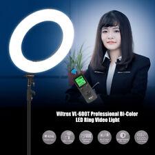 Viltrox VL-600T Professional 3300K-5600K Bi-Color LED  Video Light Fill M0P7