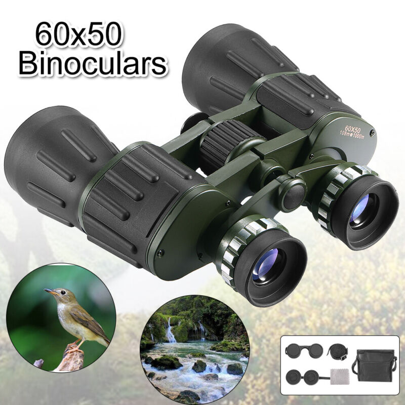 Useful 60x50 Day/Night Military Army Zoom Optics Hunting TeleScope Binoculars