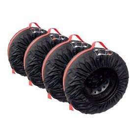 """Alloy Wheels Strong Storage Bags / Cases in Black 17"""" 18"""" 19"""" (Winter / Summer) - QUICK SALE"""