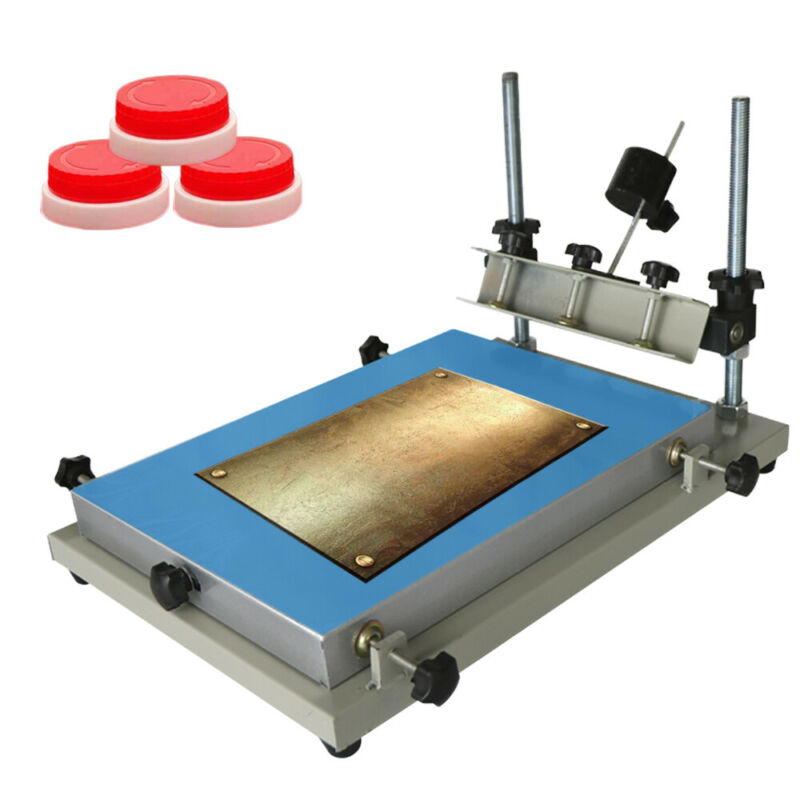 SMT Stencil Printer Manual Solder Paste Printer Printing Machine Work Table
