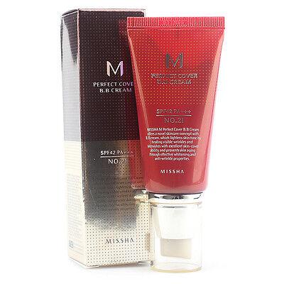 Missha M Perfect Cover BB Cream #21 50ml freebie