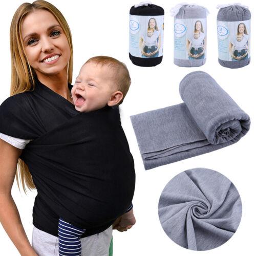 Babytragetuch 100% Baumwolle Babytrage Tragetuch Sling Neugeborene bis 20KG 5M