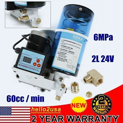 Automatic Electric Grease Lubrication Pump Oiler Punch Pump 24v 2l 60ccmin 6mpa