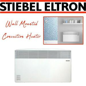 NEW Stiebel Eltron CNS200E Wall Mounted Convection Heater, 240/208V, 2.0 kW Condtion: New, CNS 200-2 E
