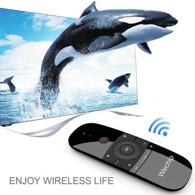 Wechip W1 2.4G Wireless Keyboard Air Mouse Remote Control In